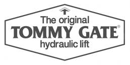 Tommy Gate® hydraulic liftgate logo.