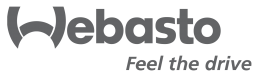 Webasto feel the drive logo.