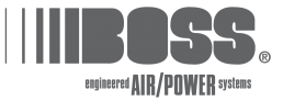 Boss Air logo.