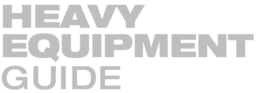 Heavy Equipment Guide magazine logo.